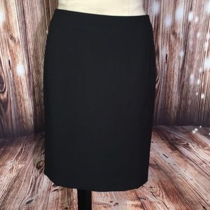 Ann Taylor LOFT NWT Black Skirt 6